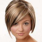 Hairstyle for short thin hair