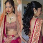 Hairstyle indian wedding