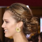 Hairstyle with braids