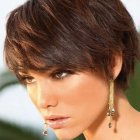 Hairstyles for a short hair