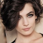 Hairstyles for short and curly