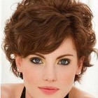 Hairstyles for short curly frizzy hair