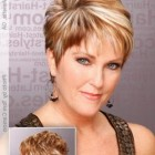 Hairstyles for short hair for women over 40