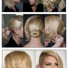 Hairstyles for short hair tutorials