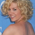 Hairstyles for short permed hair
