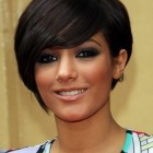 Hairstyles short hair round face