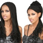 Kanekalon braids hairstyles