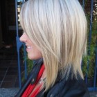 Layered a line haircut