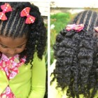 Little girls braid hairstyles