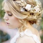 Long hair updos for weddings