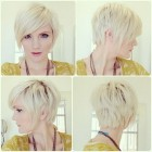 Longer pixie haircuts for women