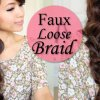 Loose braids hairstyles