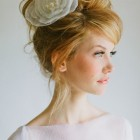 Modern wedding hair