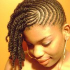 Natural braiding hairstyles