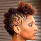 Natural braids hairstyles
