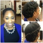 Natural hair wedding styles