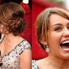 Red carpet prom hairstyles
