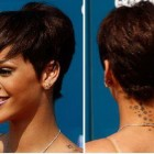 Short black hair cuts