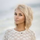 Short blonde hair styles