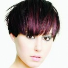 Short hair colours and styles