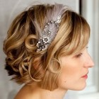 Short hair styles for brides