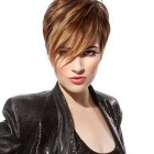 Short hairstyle colours