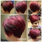 Short hairstyles and color for 2015