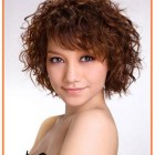 Short hairstyles for naturally wavy hair
