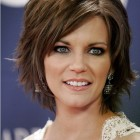 Short layers haircut