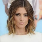 Short medium hairstyles 2015
