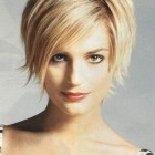 Short or medium length hairstyles