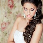 Side wedding hair