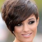 Some hairstyles for short hair