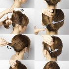 Step by step hairstyles for short hair