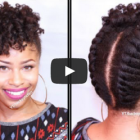 Styles for short natural hair
