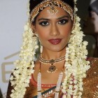 Tamil bridal hairstyle