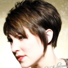 Trendy short haircut for women