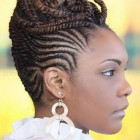 Updo braid hairstyles for black hair
