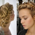 Updo braids hairstyles