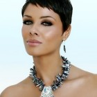 Very short pixie haircuts for black women