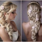 Wedding braided hairstyles