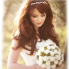 Wedding bride hair