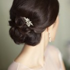 Wedding chignon