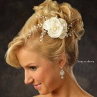 Wedding flower for hair