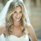 Wedding hair down with veil