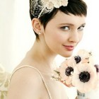 Wedding hair pieces for short hair