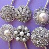 Wedding hair pins pearl