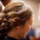 Wedding hair ribbon