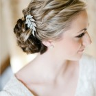 Wedding hair slides