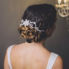 Wedding hair vines